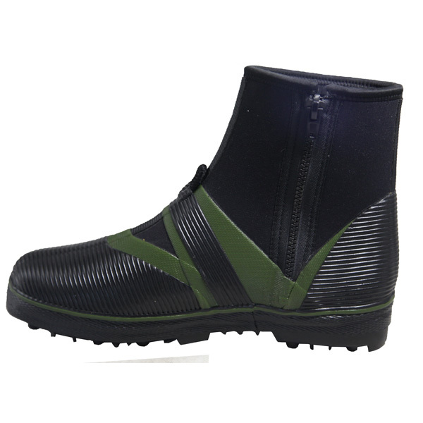 Fly fishing boots with spike ice fishing shoes neoprene for Ice fishing boots