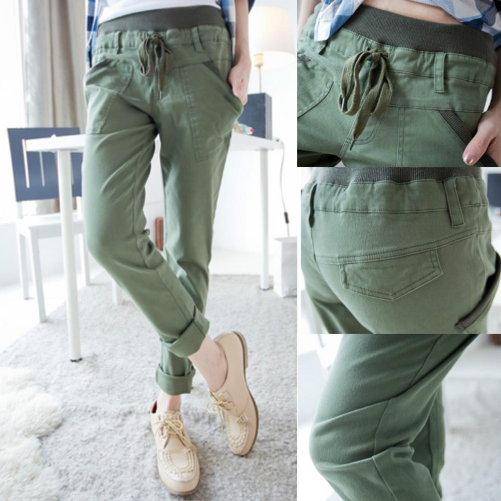 New 2014 Plus Size Cargo Pants, Harem Pants Women ...