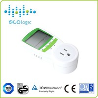 Temperature/Humidity display digital and electric watt meter to measure power consumption