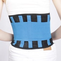 Adjustable Deluxe Double Pull Lumbar Brace / Lower Back Belt, waist support belt for Pain Relief
