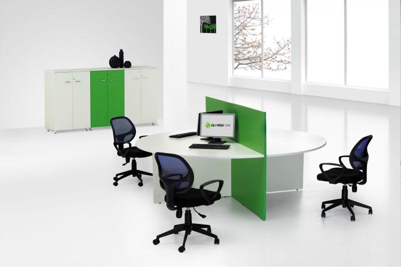 Hei er verkauf gut aussehende b ro 4 personen workstation for Schreibtisch 4 personen