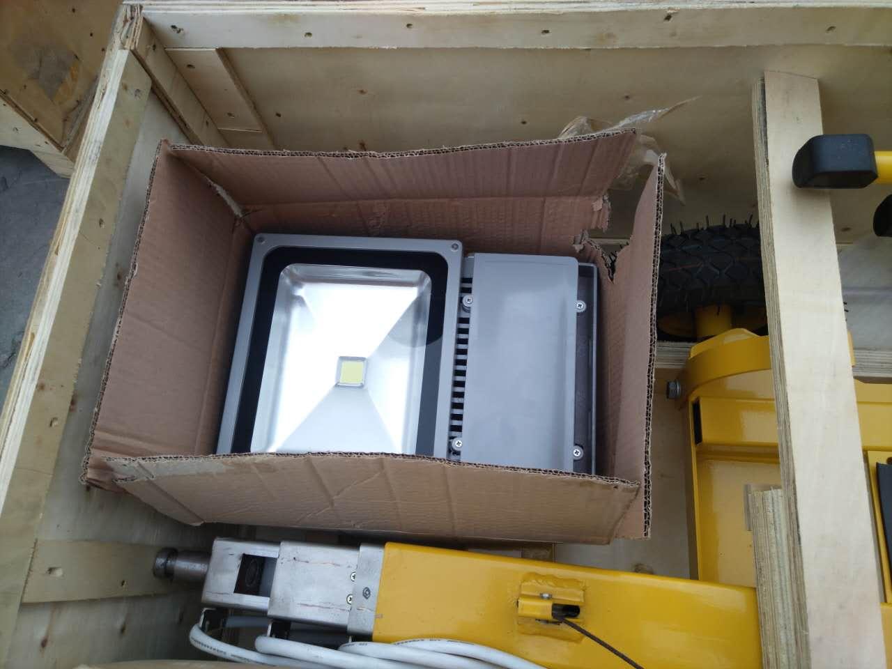 ผู้ผลิตจีนของ Yanmar Diesel Mobile Light Tower พร้อมที่จับยก