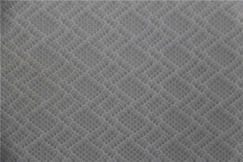 yarn dyed polyester mesh fabric from China factory