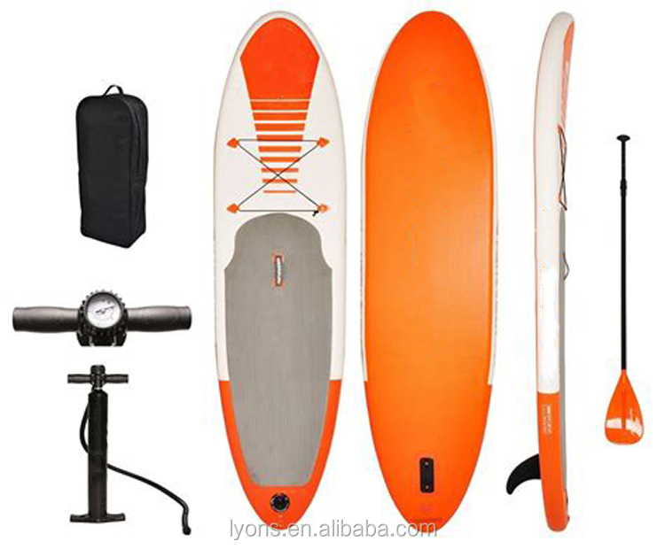 Adulto Bordo Sup Inflável Stand Up Paddle Board Surf Equipamentos