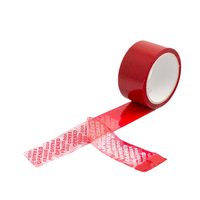 Carton Sealing Tamper Evident Security Tape