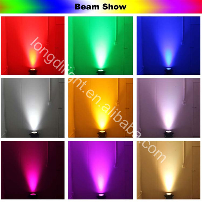 54x1w Rgb Ip65 Par Can Light Price Color Changing Led Uplight Outdoor