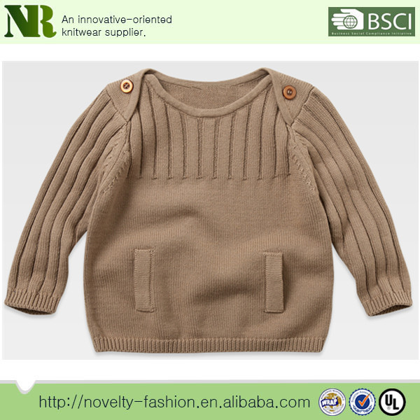 Boys Knitted Pullover Sweater Pattern Wholesale Knitted Pullover