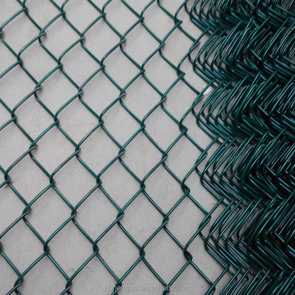 Galvanized Chain Link Fence(diamond Wire Mesh),Pvc Coated China Link ...