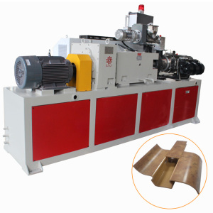 5m/min High Speed PVC Plastic Skirting Board Extrusion Line with UV Coating Printing