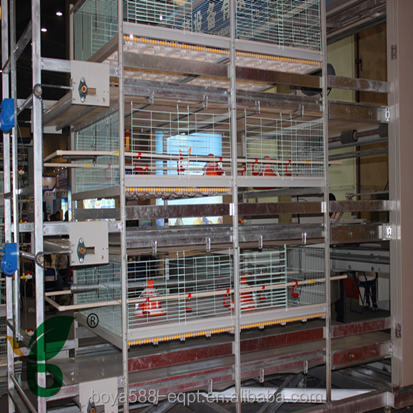 H Frame 3 Tiers 108-120 Broiler Poultry Farm House Design