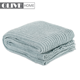 Fashionable 100% polyester yarn knit throw wool hand knitted blanket for home