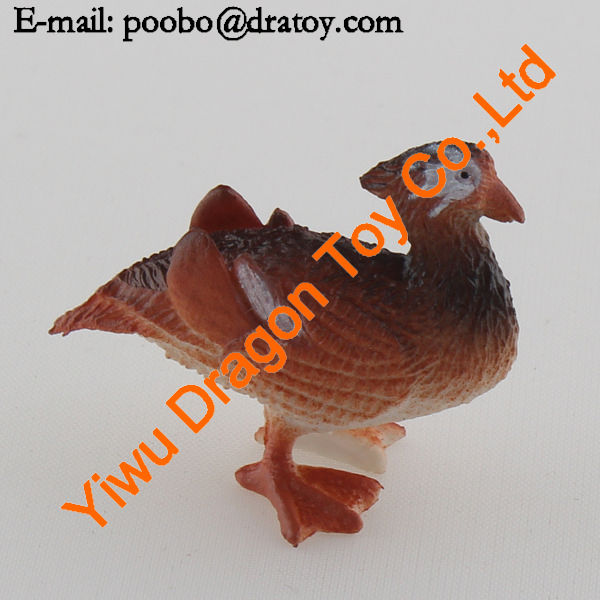 custom small plastic turkey toys