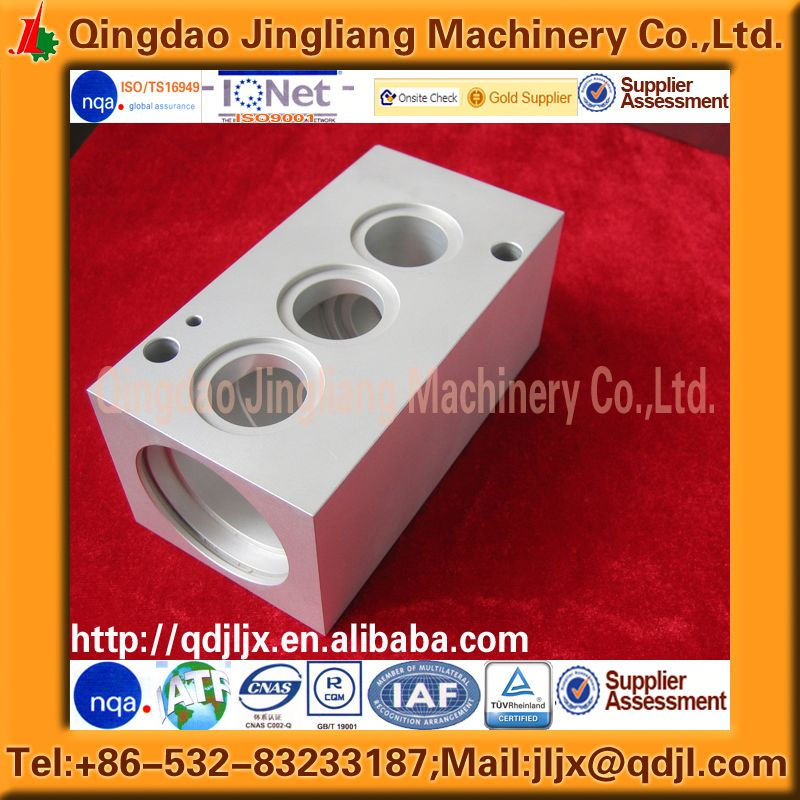 anodized cnc aluminum machining parts and custom aluminum milling and machining product