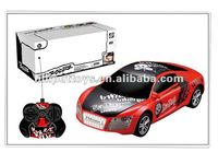 1/24 scaled 4 ch remote control car with led light