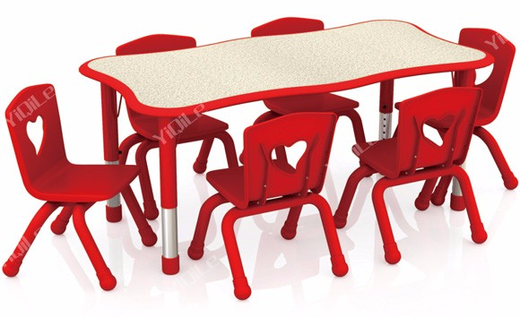 Competitive Price Of Children Plastic Dining Table And Chair Set