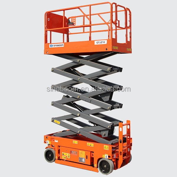 Industrial hydraulic scissor lift working platforms,self-propelled scissor lift manufacturers,move hydraulic scissor mobile lift