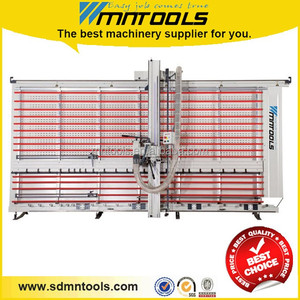 Vertical sliding table panel saw