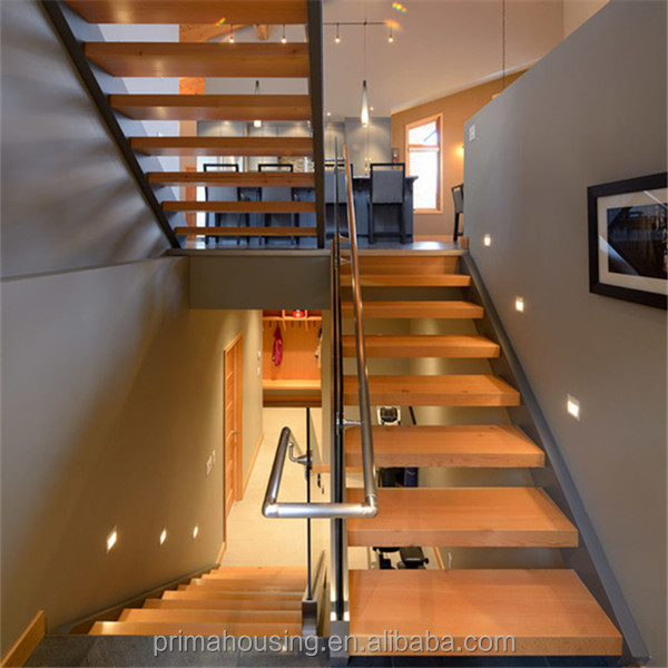 Low Cost Wood Staircase Design