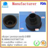 Dongguan factory customed rubber nut caps