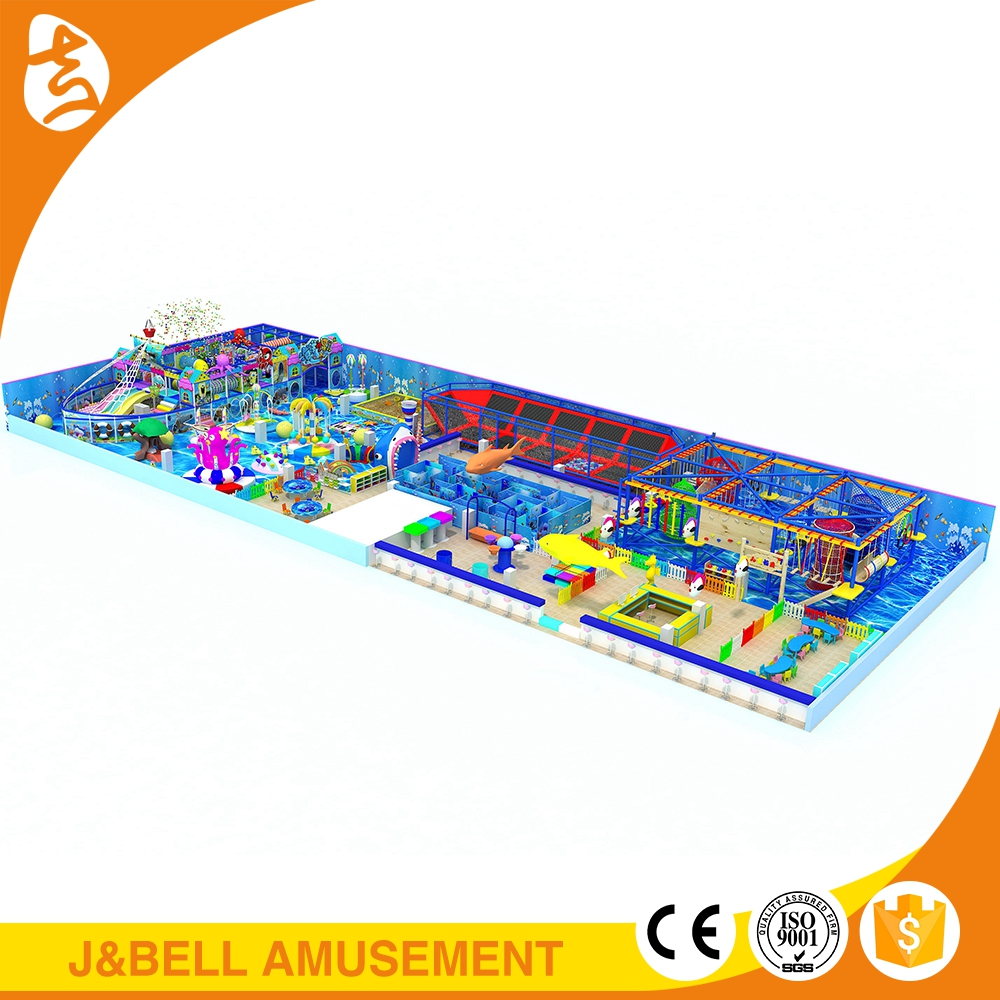 Children soft funny naughty castle, indoor playground equipment