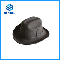 customized Jazz hat unique design handsome style for young men wool felt jazz hat