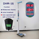 coin operated machine,electronic ultrasonic human bady height and weight measuring machine DHM-16