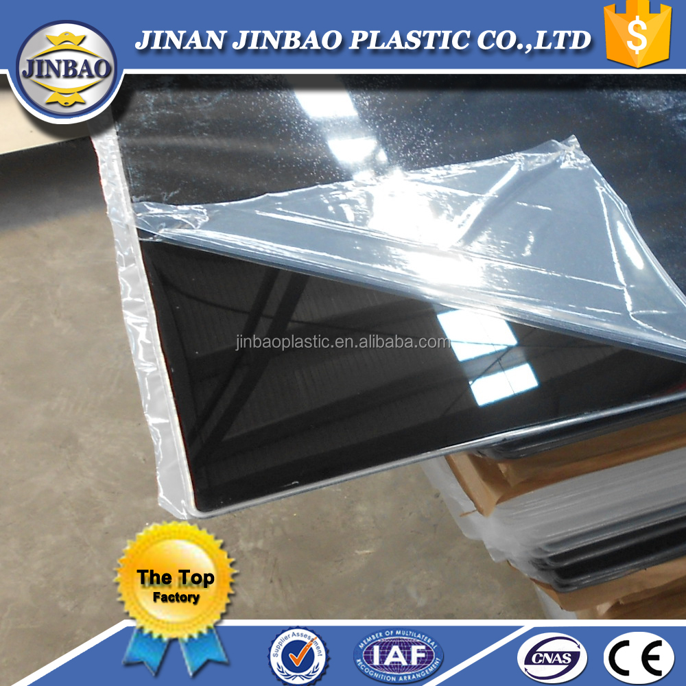 Vacuum Forming Pmma Scratch Resistant Acrylic Black Sheet