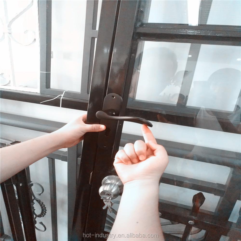 Marco de acero al por mayor Ventana de hierro diseño de parrilla de ...