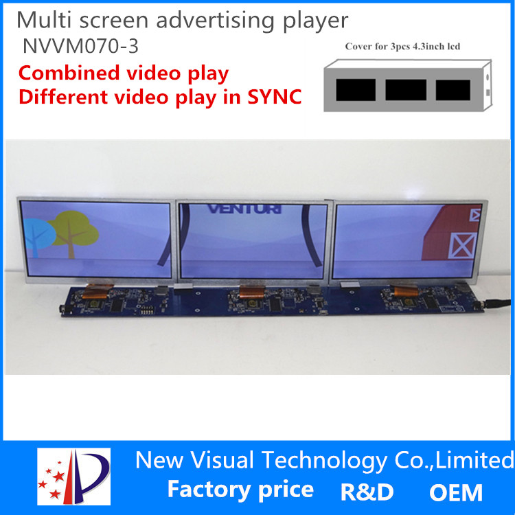 factory hot sales transparent lcd display