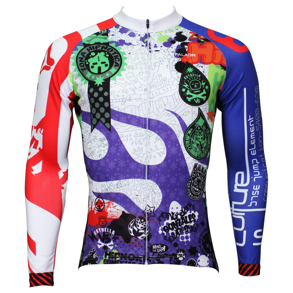 Free shipping 2015 Spring and autumn season long sleeved men's multi colored riding clothesSQ-376