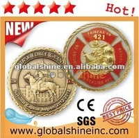 high quality real gold silver coin