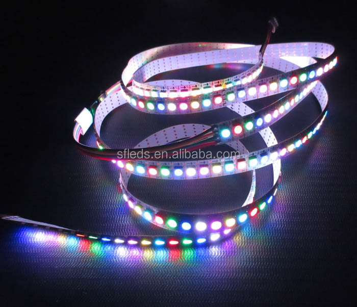 Addressable Built-in Apa102 Ic Color Changing Led Tape Light ...