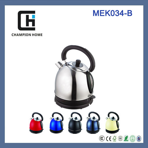 Home appliances new 1.8L multi color ss 201 body mat/polishing fast cooking electric kettle