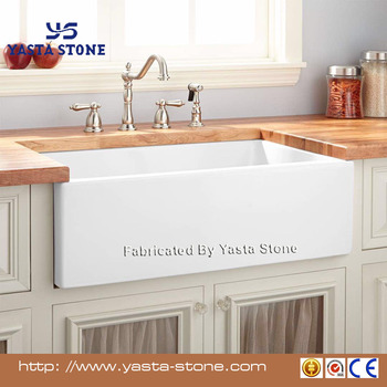 Good Grade Kitchen Ceramic Sink Apron Front Sink - Buy Ceramic Kitchen  Sinks,Apron Front Sink,White Kitchen Sinks Product on Alibaba.com