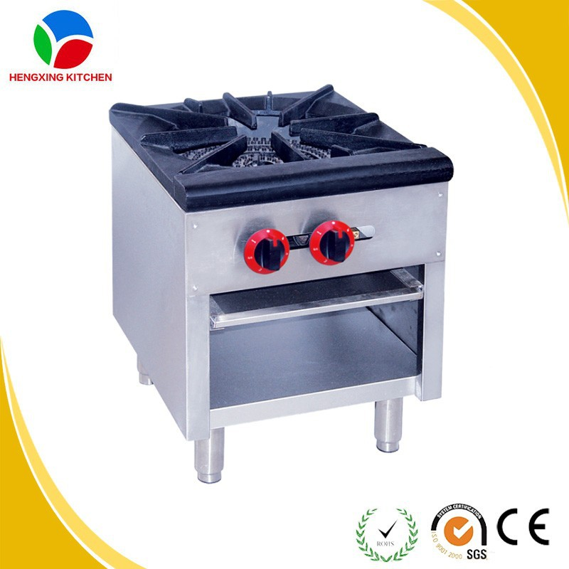 stainless steel gas stove burner4 burner gas wok rangeheavy duty gas range