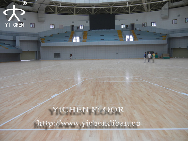 Yichen basketball court sports flooring system