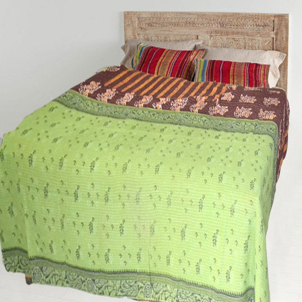 Get Quotations Kraftdirect Kantha Throw Quilts Quilt Vintage Superior Quality