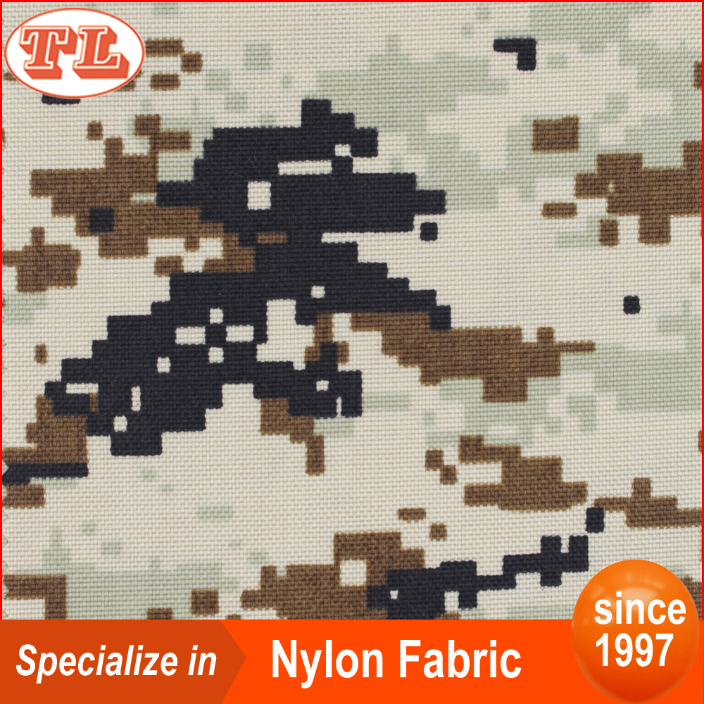 Waterproof digital printed camouflage 1050d camouflage of cordura nylon fabric