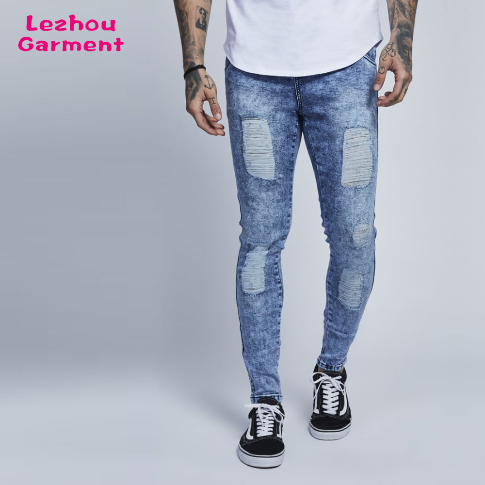 distressed new model jeans pants wholesale price