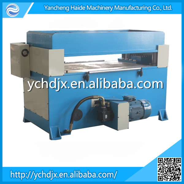 China wholesales hydraulic paperboard jigsaw puzzle die cutting press machine