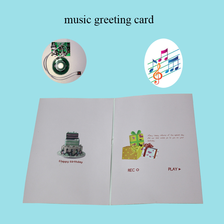 professional recordable greeting card wife with