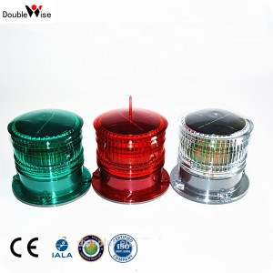 DOUBLEWISE LED Solar Beacon/Deck Navigation Signal Lantern