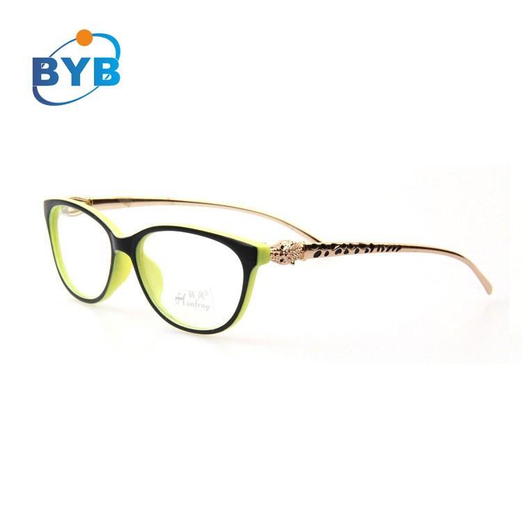 Cabeza de leopardo templo nuevo modelo de marco de gafas de moda ...