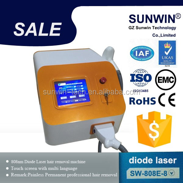 fda approved laser diodo 808 nm portable for women hair removal