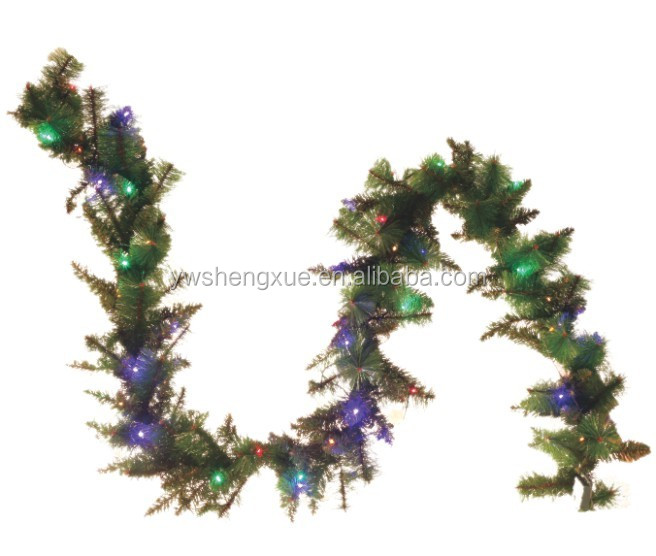 New Arrival Christmas Garland Artificial Xmas Garland High Quality Home Ornaments Green Christmas Garland Buy Christmas Garland Artificial Xmas