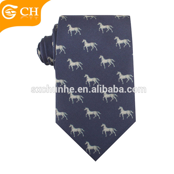 Digital printing silk neck ties