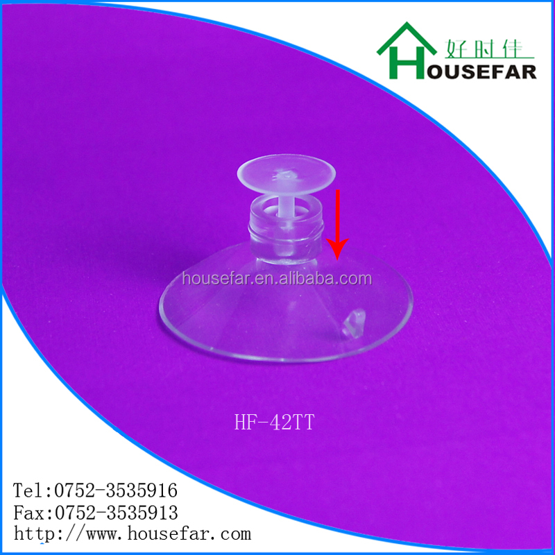 plastic locking suction cup with thumb tack