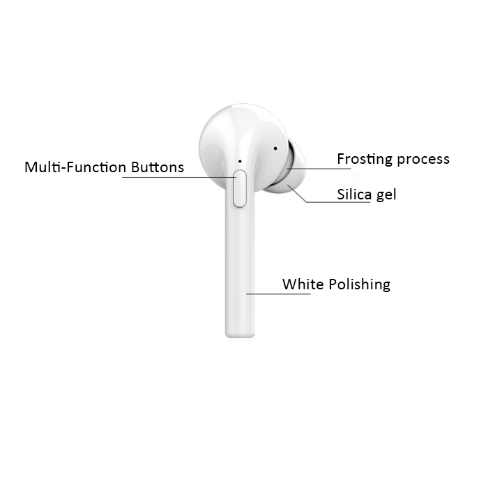 Foldable Retractable Wireless Bluetooth Headset With Mp3 Fm Radio Player