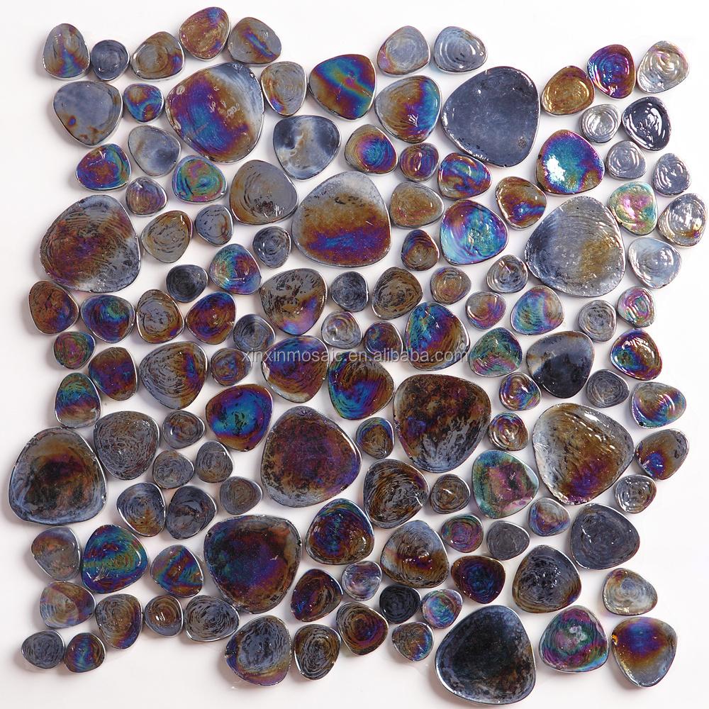 Hot Sale Seashell Mosaic Tile,Seashell Bathroom Tile,Shell Mosaic ...