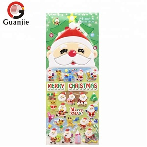 Christmas Puffy Sticker/3D puffy sticker for christmas